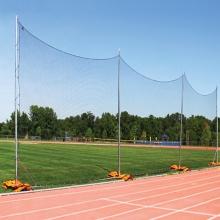 Kwik Goal 15'Hx60'W Portable Backstop Netting System, 7E201