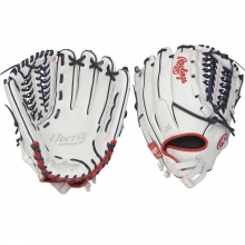 "Rawlings 12.5"" Liberty Advanced Fastpitch Softball Glove, RLA125FS-15WNS-3/0"