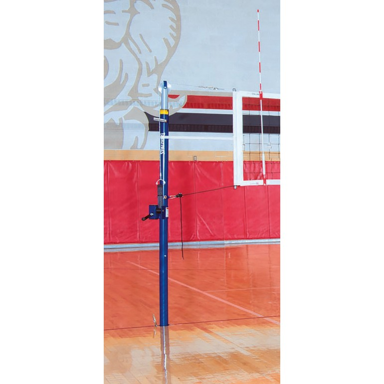 Spalding 3 Quot Elite Aluminum Volleyball Net System Sea110