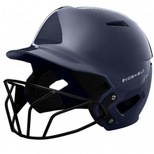 Evoshield XVT Luxe Fitted Batting Helmet w/Facemask