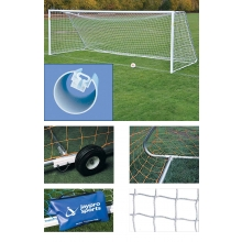 Jaypro 8' x 24' Official Soccer Goal PACKAGE, SGP-400PKG