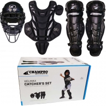 Champro Age 9-12 Hel Max Youth Catcher's Set, CBSY912B