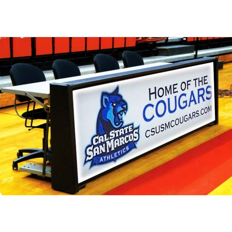 Marvelous Nevco Basketball Scorers Table Backlit Onthecornerstone Fun Painted Chair Ideas Images Onthecornerstoneorg