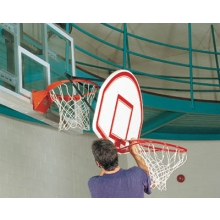 Bison Easy-Up 6-in-1 Adjustable Mini Basketball Youth Goal, TR86 (EACH)
