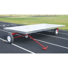 Blazer 2712 Aluminum Track Super Equipment Cart, 4' x 8'