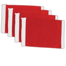 Champro Replacement Flags for Soccer Corner Flags, set of 4, A197RSE