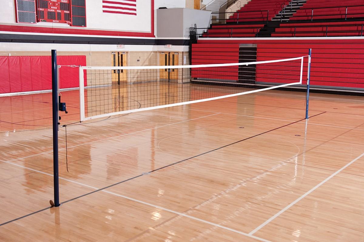 Spalding Ss100 Slide Volleyball Net System