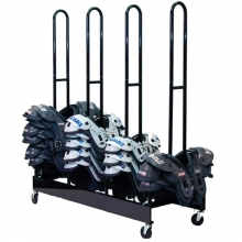 champion two stack shoulder pad rack  a47664  anthem sports
