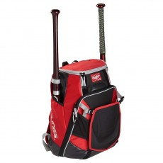 "Rawlings Velo Backpack, VELOBK, 19.5""H x 17""W x 9""D"