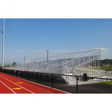 National Rec 15 Row Elevated ADA Bleachers w/ Ramps