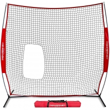 POWERNET Pop Up Pitch Thru Softball Screen