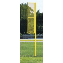 30 H Pro Style Baseball Foul Poles Pair