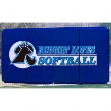 Cover Sports 4'H x 8'L Baseball/Softball Backstop Padding w/Graphics