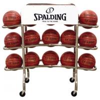 Spalding 68-452 Replica Pro Basketball Ball Rack