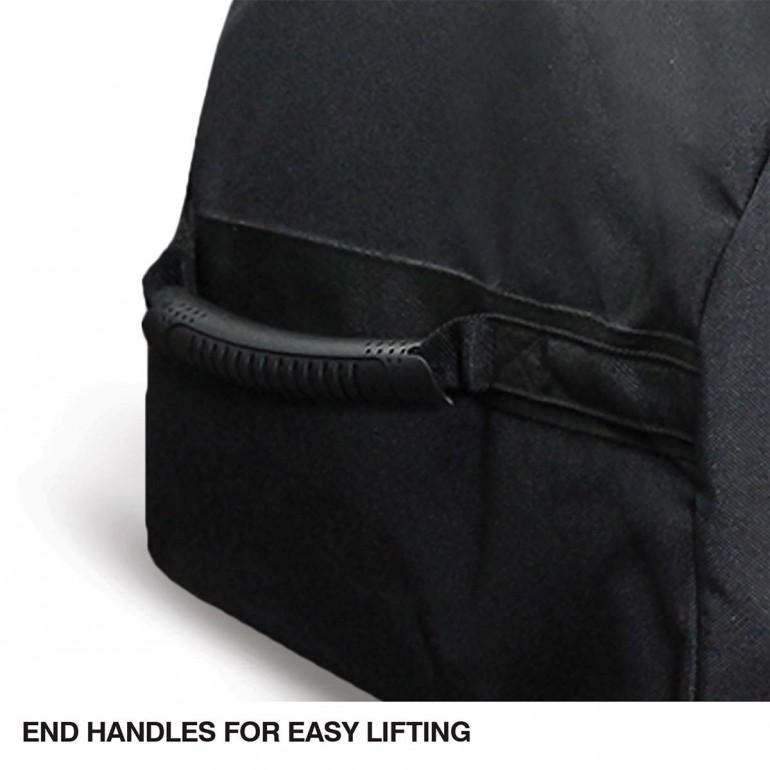 Black E50 CHAMPRO SPORTS Jumbo All Purpose Equipment Bag on Wheels