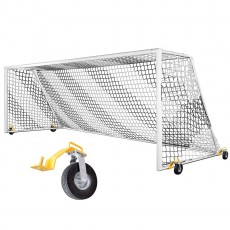 Kwik Goal Evolution EVO 2.1 8'x24' Soccer Goal w/ Swivel Wheels, 2B3406SW