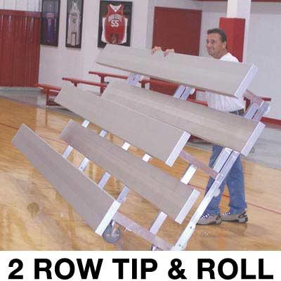 2 Row 9 Standard Tip Amp Roll Bleacher A07 671
