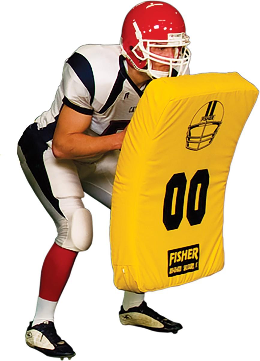 Fisher Jumbo Curved Football Blocking Body Shield 10003