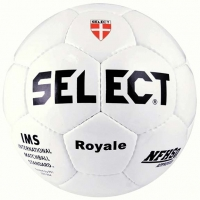 Select 01-253 Royale Soccer Ball, SIZE 5, White