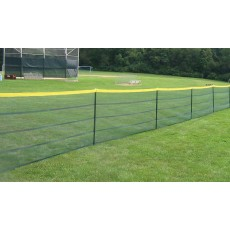 Grand Slam 4'H Mesh Temporary Fencing, 50' - Green