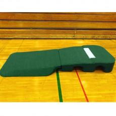"""Portolite 10"""" Oversize Indoor/Outdoor Turf Practice Pitching Mound, Green"""