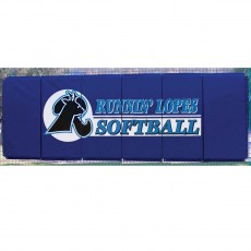 Cover Sports 4'H x 12'L Baseball/Softball Backstop Padding w/Graphics