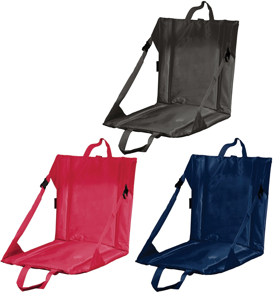 Folding Stadium Seat Cushion With Backrest A00 021