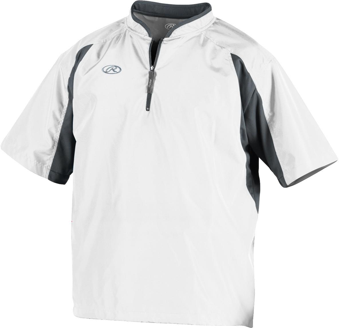 pretty nice b28e2 900f7 Rawlings Baseball Short Sleeve Cage Jacket, TOCCJ