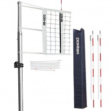 "Porter Powr-Line 3-1/2"" STANDARD Volleyball Net System Package, 19811"