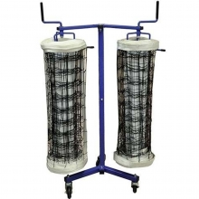 Jaypro DOUBLE, Volleyball Net Storage Cart, VNK22