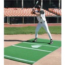 6' x 12' Baseball/Softball Hitter's Turf Mat, Green