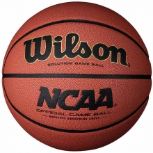 "Wilson Solution Men's 29.5"" NCAA Basketball, WTB0700"