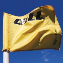 Gill 96701 Cross Country Directional Flag, YELLOW