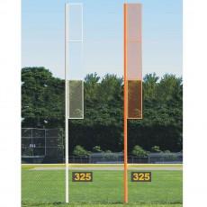 Jaypro 20' Collegiate Softball Foul Poles, SBCFP-200