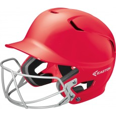 Easton Z5 JUNIOR Solid Batting Helmet w/ BB/SB Mask