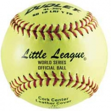 "Dudley SB12L 12"", 47/375 Fastpitch Little League Leather Softballs, dz"