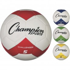 Champion Challenger Soccer Ball, Size 3, 4 & 5