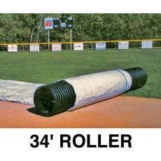 FieldSaver Roller for Infield Cover, 34'
