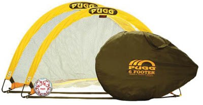 Pugg 6 Pop Up Soccer Training Goals Pair A11 276