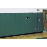 """Safety Wall Panel Pads w/ 1"""" Top & Bottom Lip, 2' x 5'"""