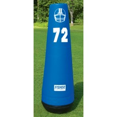 "Fisher 72""H Pro Football Pop-Up Dummy, 10172"