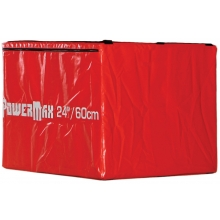 Power Max TA224 Soft Plyo Box, 24""