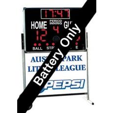 Sportable Scoreboard EP-3 EXTERNAL BATTERY for Multi-Sport, Indoor/Outdoor Scoreboard (A91-150)