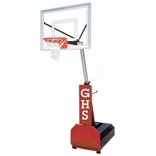 First Team Fury III Portable Basketball Hoop