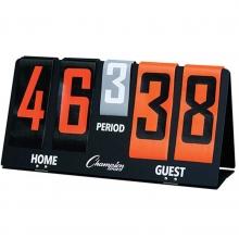 Champion Deluxe Flip-a-Score Tabletop Scoreboard