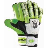 Brine SGKGM34 King Match 3X Soccer Goalkeeper Gloves, LIME GREEN