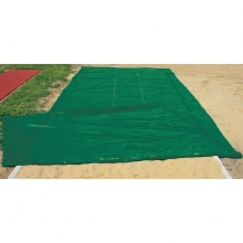 PitSaver Weighted VINYL Jump Pit Cover, 12' x 28'
