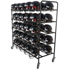 Football Helmet Storage Cart