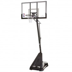 "Spalding Hercules Pro Glide Advanced 52"" Portable Basketball Hoop"