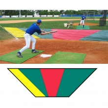 Minor League Bunt Zone Infield Protector, 20'x24'x64'